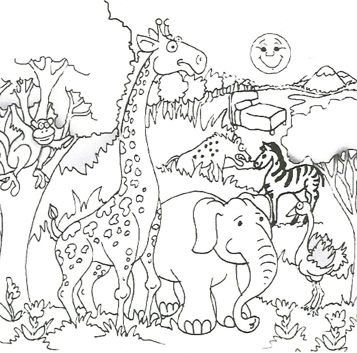 Free Elephant Coloring Pages Printable – Free Coloring Sheets