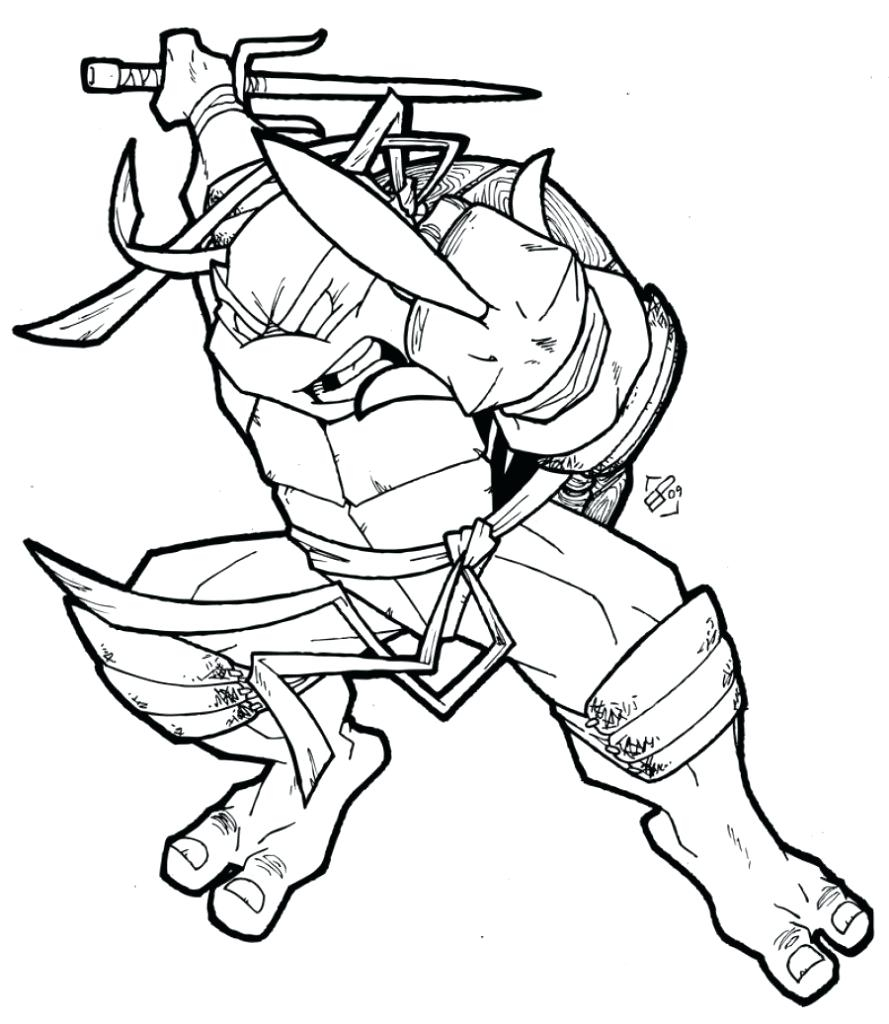 Ninja Turtle Coloring Pages for Kids Download – Free Coloring Sheets