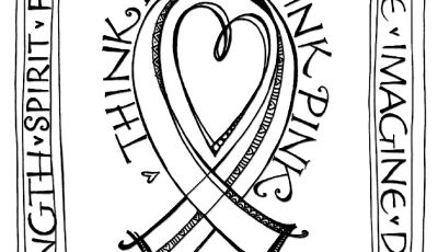 Breast Cancer Coloring Pages - Zenspirations Blog Think Pink Free Downloadable Coloring & Card Printable