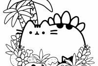 Cute Coloring Pages to Print - 20 Free Pusheen Coloring Pages to Print to Print