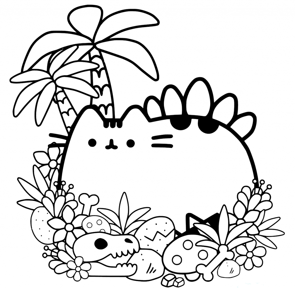 20 Free Pusheen Coloring Pages to Print to Print Of Cute Coloring Pages for Girls Printable Kids Colouring Pages Kids Gallery