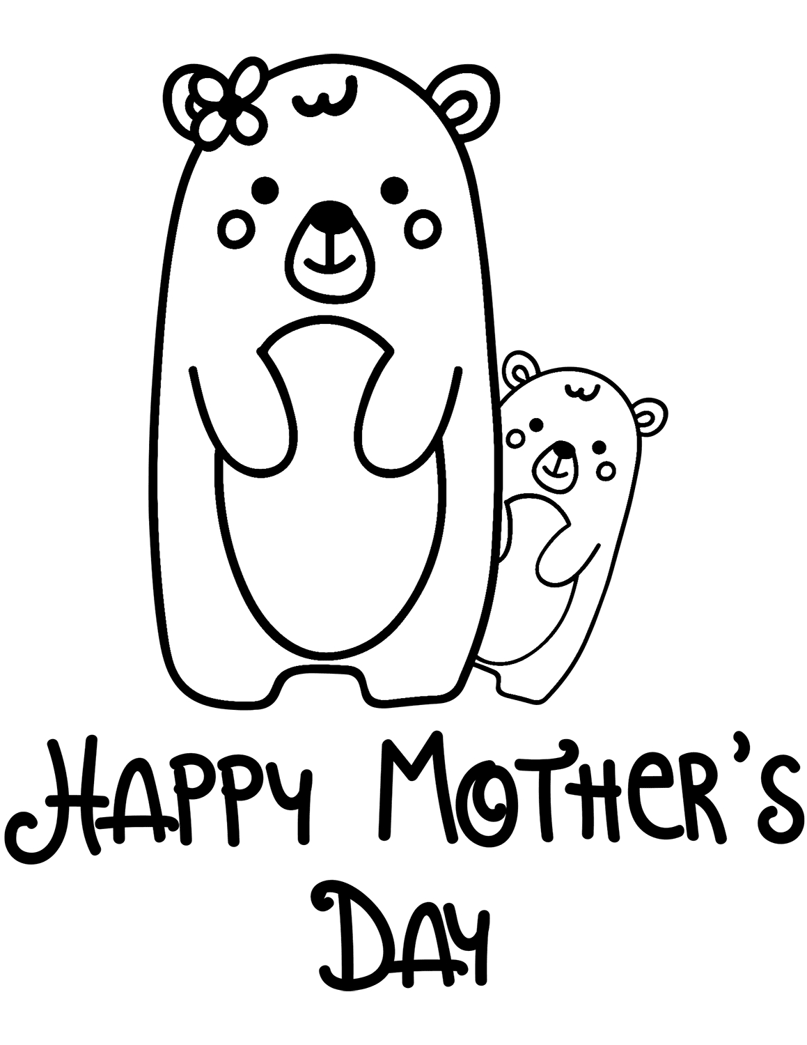 30 Free Printable Mother S Day Coloring Pages Printable – Free ...