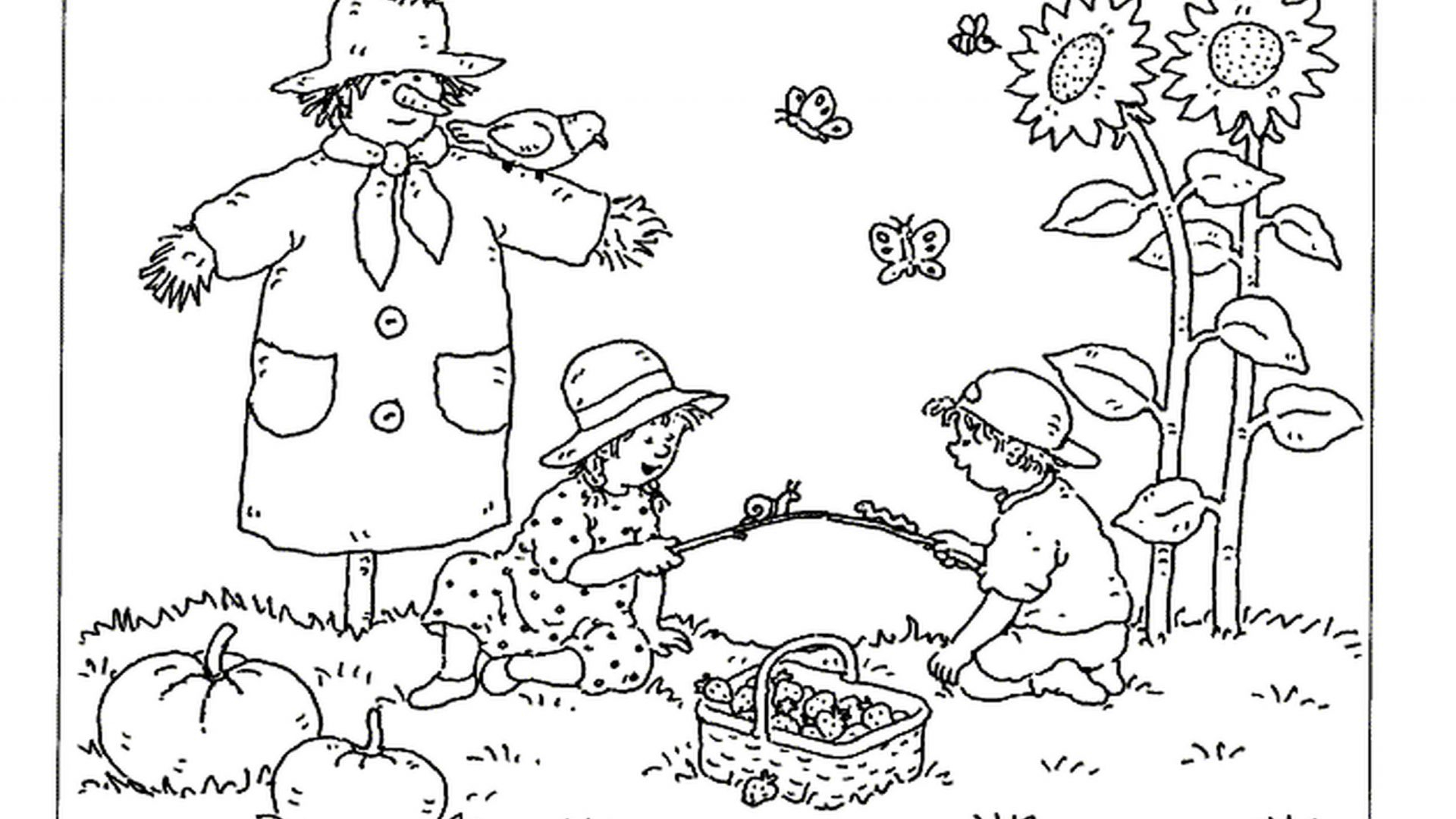 Autumn Coloring Pages Printable to Print 3e - Free For kids
