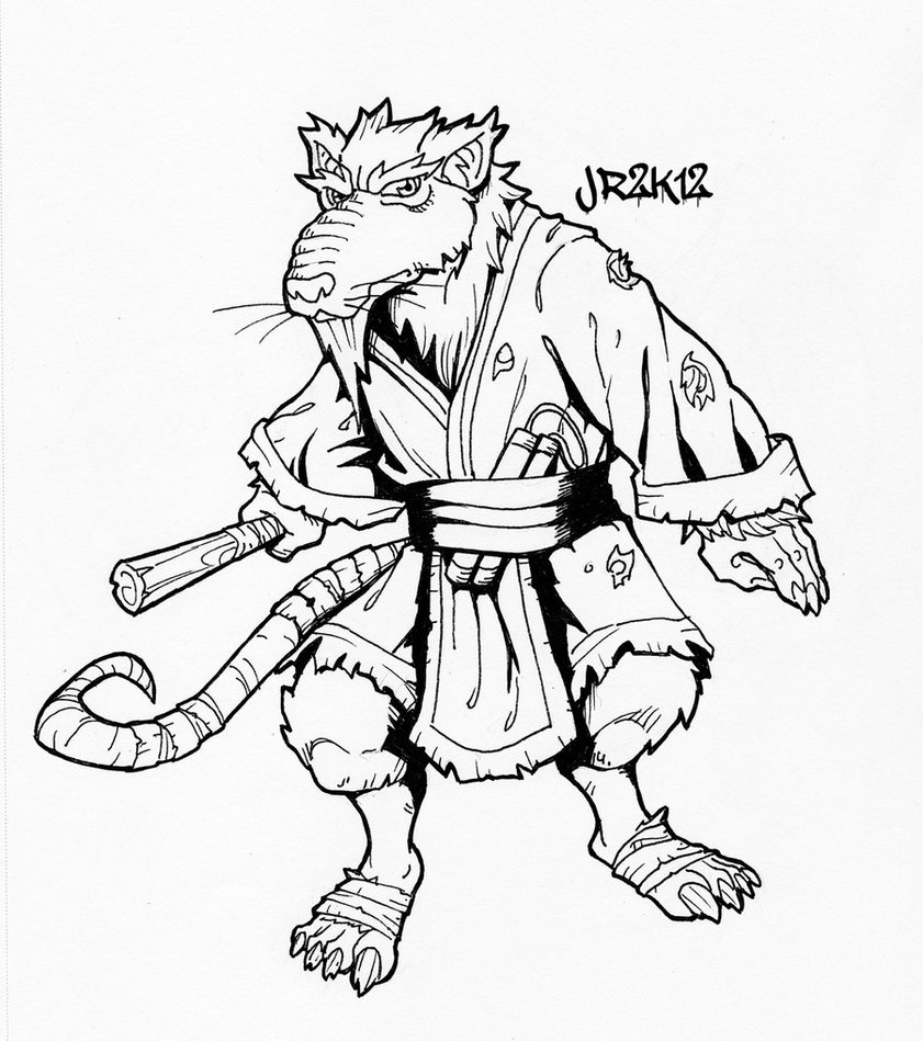 Ninja Turtle Coloring Pages to Print – Free Coloring Sheets