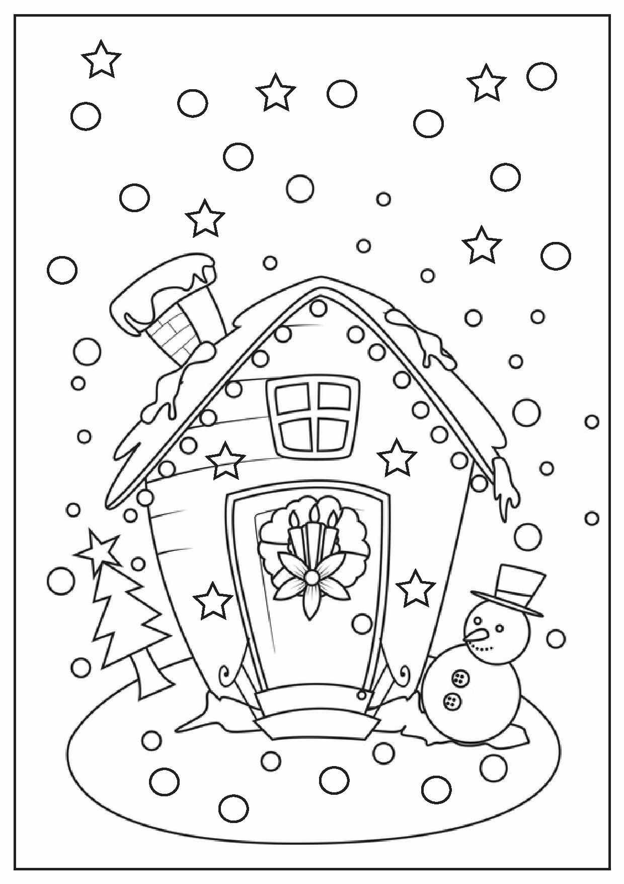 easy printable christmas coloring pages fun for christmas to print