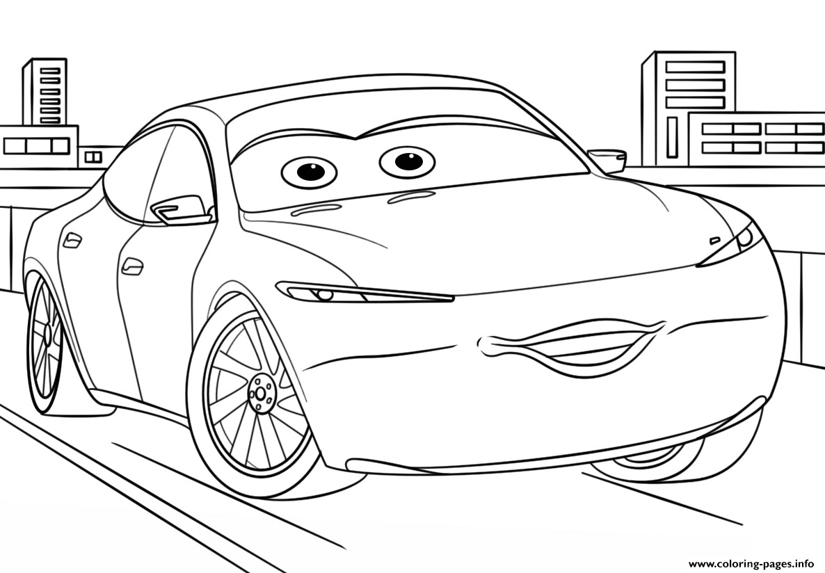47 Best Collection Cars Movie Coloring Pages Printable Of 20 Disney Download