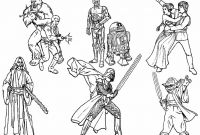 Star Wars Free Coloring Pages - 6 Star Wars Characters Free Coloring Page Kids Movies Noticeable to Print