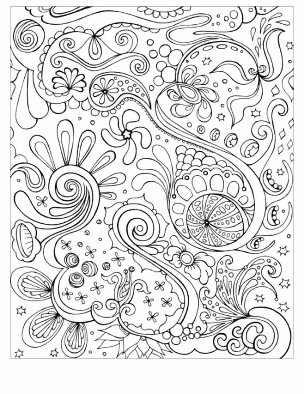 Abstract Coloring Pages Line Mapiraj Collection Of Stress Relief Coloring Pages Animals Funny Coloring Pages Printable