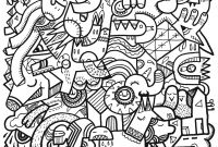 Abstract Coloring Pages Online - Abstract Design Coloring Pages Patterns Difficult Colouring Pages Printable