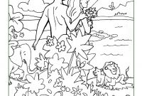 Adam and Eve Coloring Pages - Adam and Eve Coloring Pages Elegant Creation Coloring Pages Collection