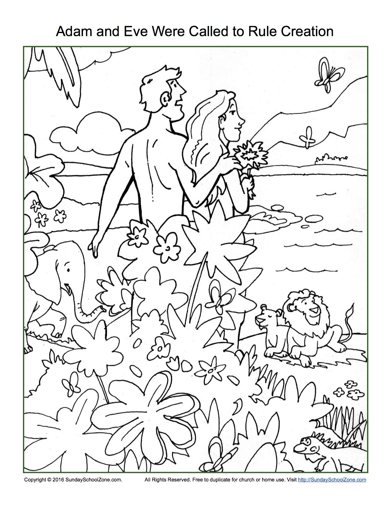 Adam And Eve Coloring Pages To Print Free Coloring Sheets
