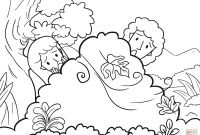 Adam and Eve Coloring Pages - Adam and Eve Hid From the Lord God Among the Trees Of the Garden Collection