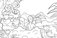 Adam and Eve Coloring Pages - Adam and Eve Were Called to Rule Creation Coloring Pages Free Collection