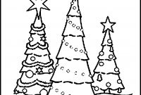 Tree Coloring Pages - Adult Christmas Tree Coloring Pages Download Printable