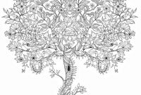 Tree Coloring Pages - Adult Coloring Pages Tree 1 Adult Coloring Pages Collection