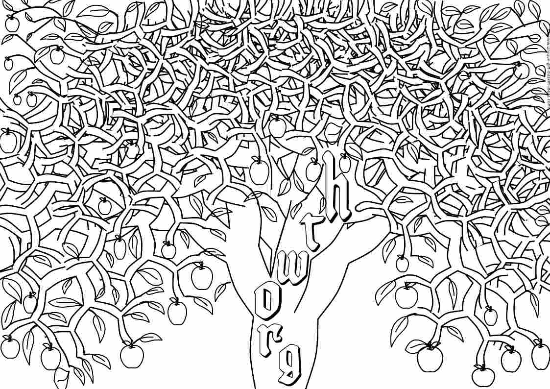 Adult Tree Coloring Pages Free to Print Of Apple Tree Coloring Page with Coloring Pages Apple orchard Download Download