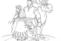 Free Coloring Pages Of Frozen - All Frozen Characters Coloring Pages Download