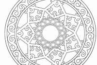 Mandala Coloring Pages to Print - Amazing Adult Mandala Coloring Pages Free for 4163 Unknown Collection