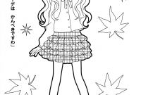 Printable Anime Coloring Pages - Anime Coloring Page 4748 1024—768 to Print