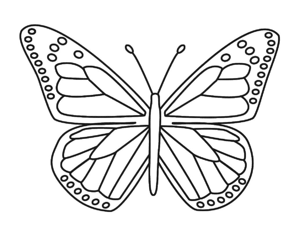 Appealing Coloring butterfly for Kids U Pilular Center Image Monarch Printable Of Detailed Coloring Pages for Adults Collection