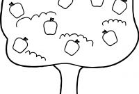 Tree Coloring Pages - Apple Tree Coloring Page with Coloring Pages Apple orchard Download Download