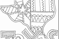 Texas Coloring Pages to Print - astonishing Texas State Coloring Pages Printable with Doodle Art and Printable