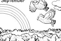 September Coloring Pages to Print - August Coloring Pages to and Print for Free Collection