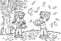 Autumn Coloring Pages Printable - Autumn Coloring Pages Download