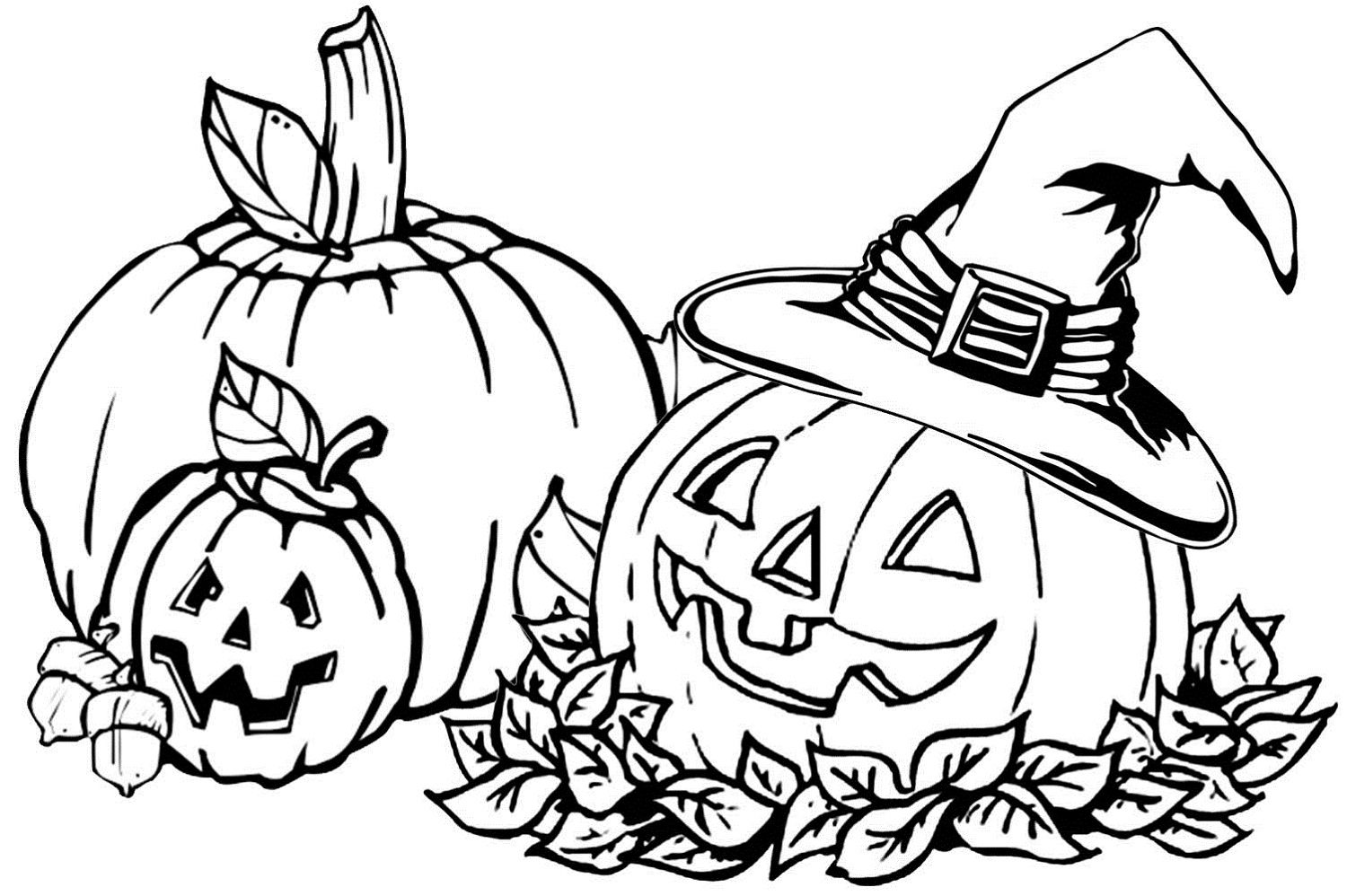 Autumn Coloring Pages Printable to Print 2f - Free For kids