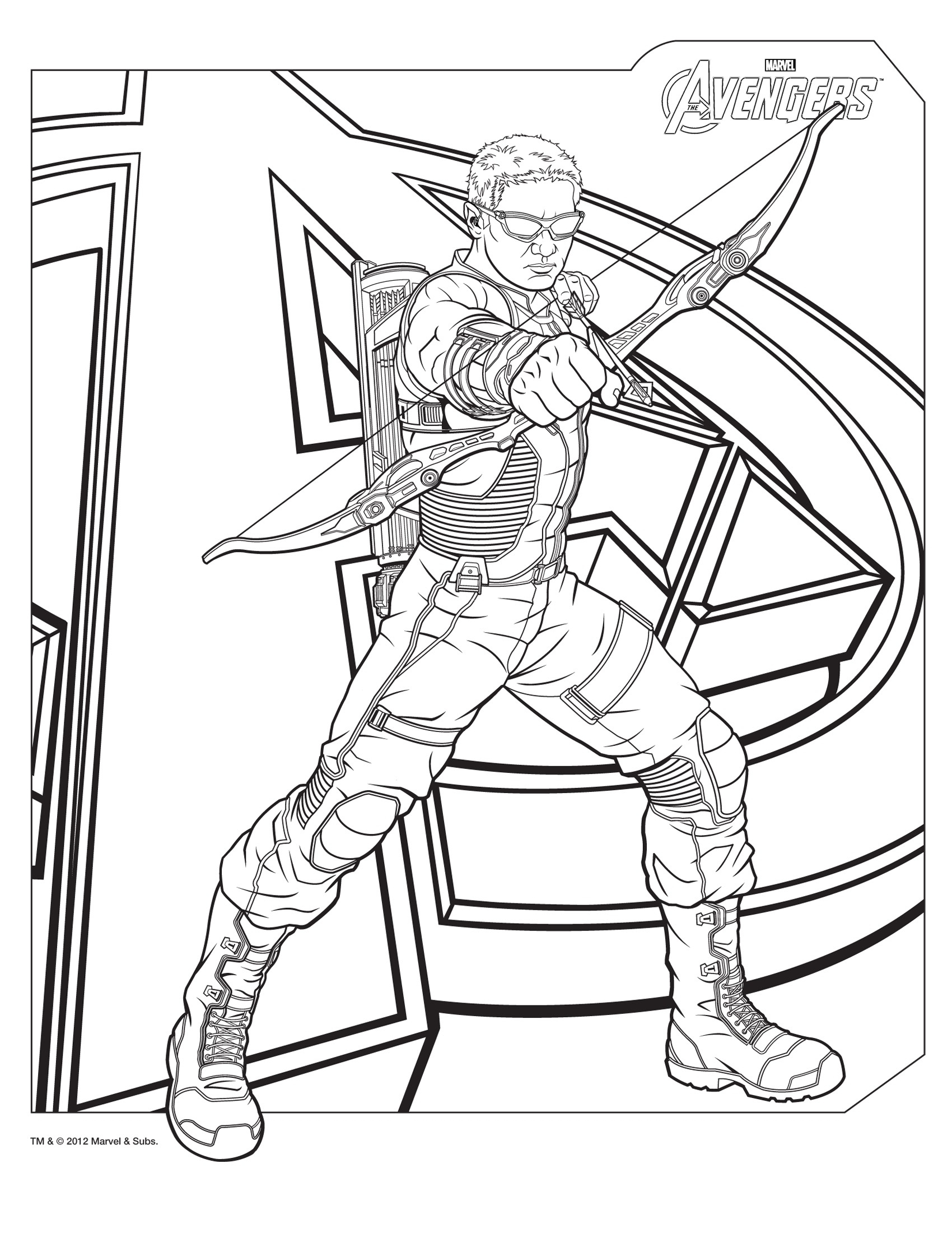 Printable Superhero Coloring Pages Childlife Download – Free ...