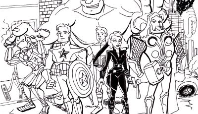 Printable Avengers Coloring Pages - Avengers Coloring Pages Best Coloring Pages for Kids to Print