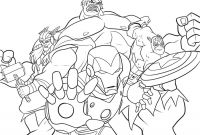 Printable Avengers Coloring Pages - Avengers Coloring Pages Free Printable Avengers Coloring Pages for to Print