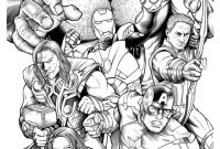Printable Avengers Coloring Pages - Avengers Marvel Coloring Pages A Child Printable Coloring Pages Download