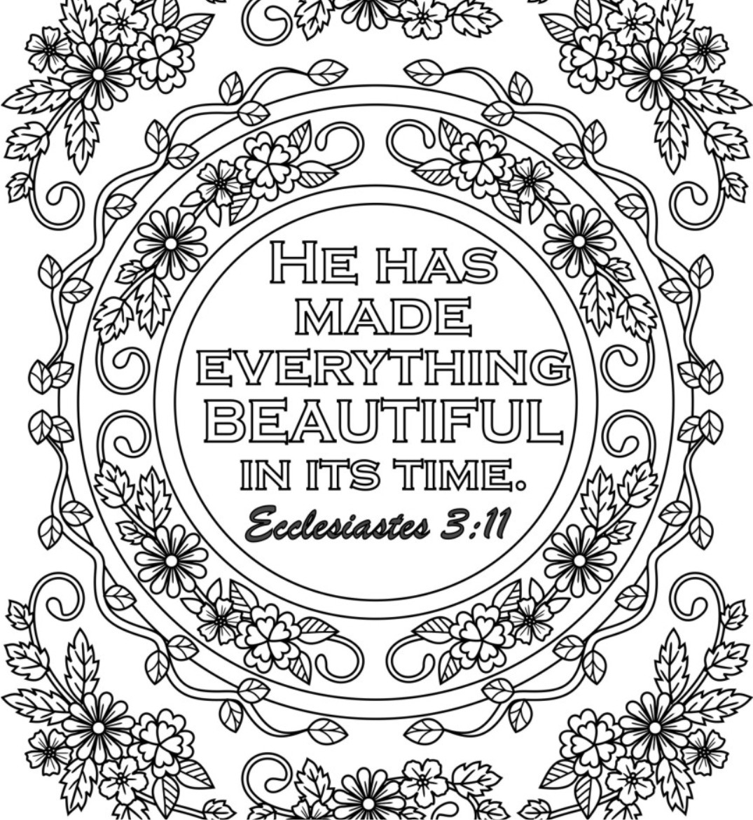 Awesome 15 Printable Bible Verse Coloring Pages Free Coloring Book to Print Of Free Printable Adult Coloring Pages Hymns & Scripture Our Printable