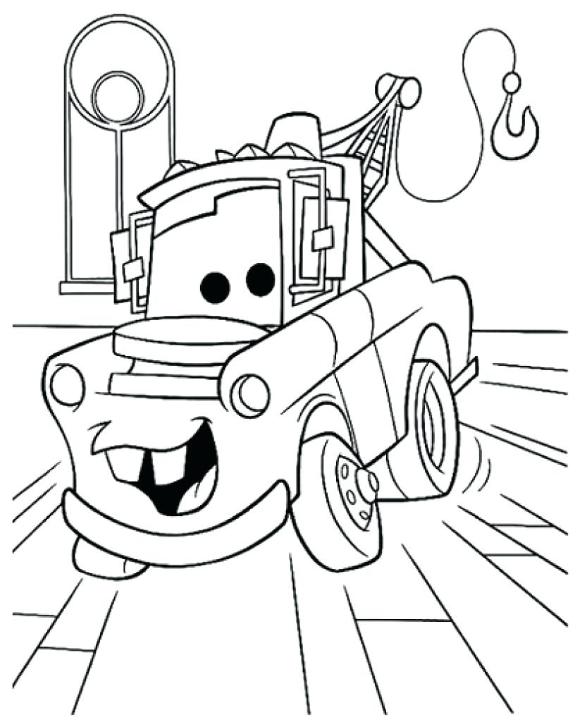 Awesome Coloring Pages Disney Mater Gallery Gallery Of Coloring Pages Lightning Mcqueen Coloring Pages Mater Games Download