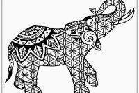 Elephant Mandala Coloring Pages - Awesome Elephant Mandala Coloring Pages 20 16 3f Adult for Adults Collection