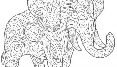 Elephant Mandala Coloring Pages - Awesome Elephant Mandala Coloring Pages Design Collection