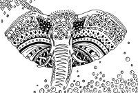 Elephant Mandala Coloring Pages - Awesome Elephant Mandala Coloring Pages Simple Gallery to Print