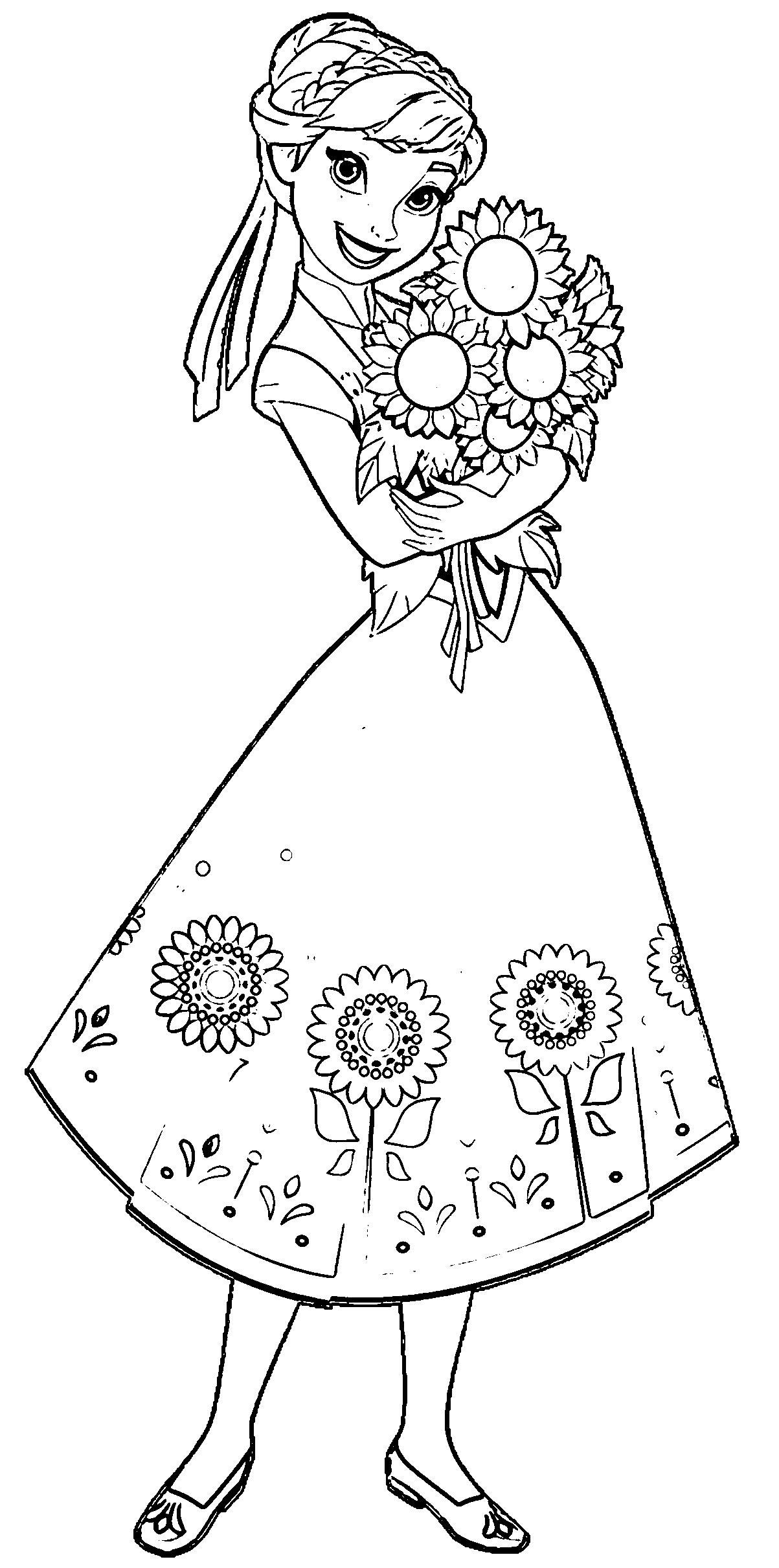 Elsa and Anna Coloring Pages Download Free Coloring Books to Print ...