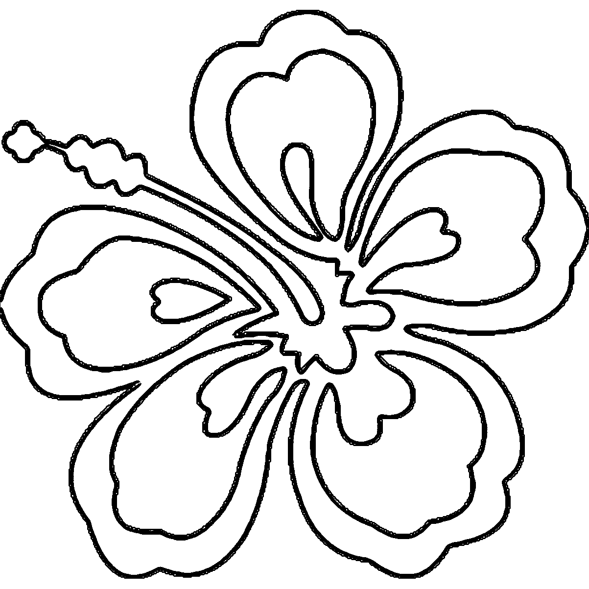 Coloring pages hawaiian flowers collection free coloring sheets coloring pages hawaiian flowers izmirmasajfo