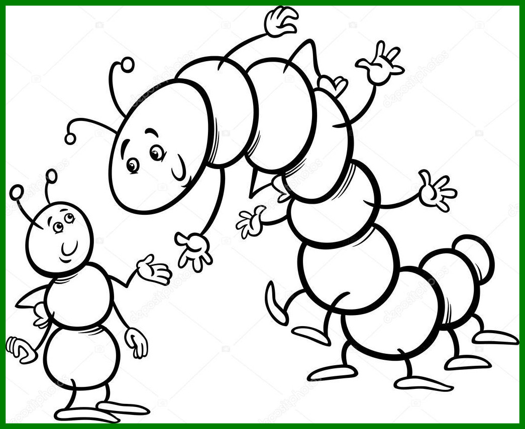 Hungry Caterpillar Coloring Pages Capricus Printable – Free Coloring ...