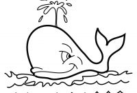 Cartoon Whale Coloring Pages - Baby Beluga Coloring Pages to Print
