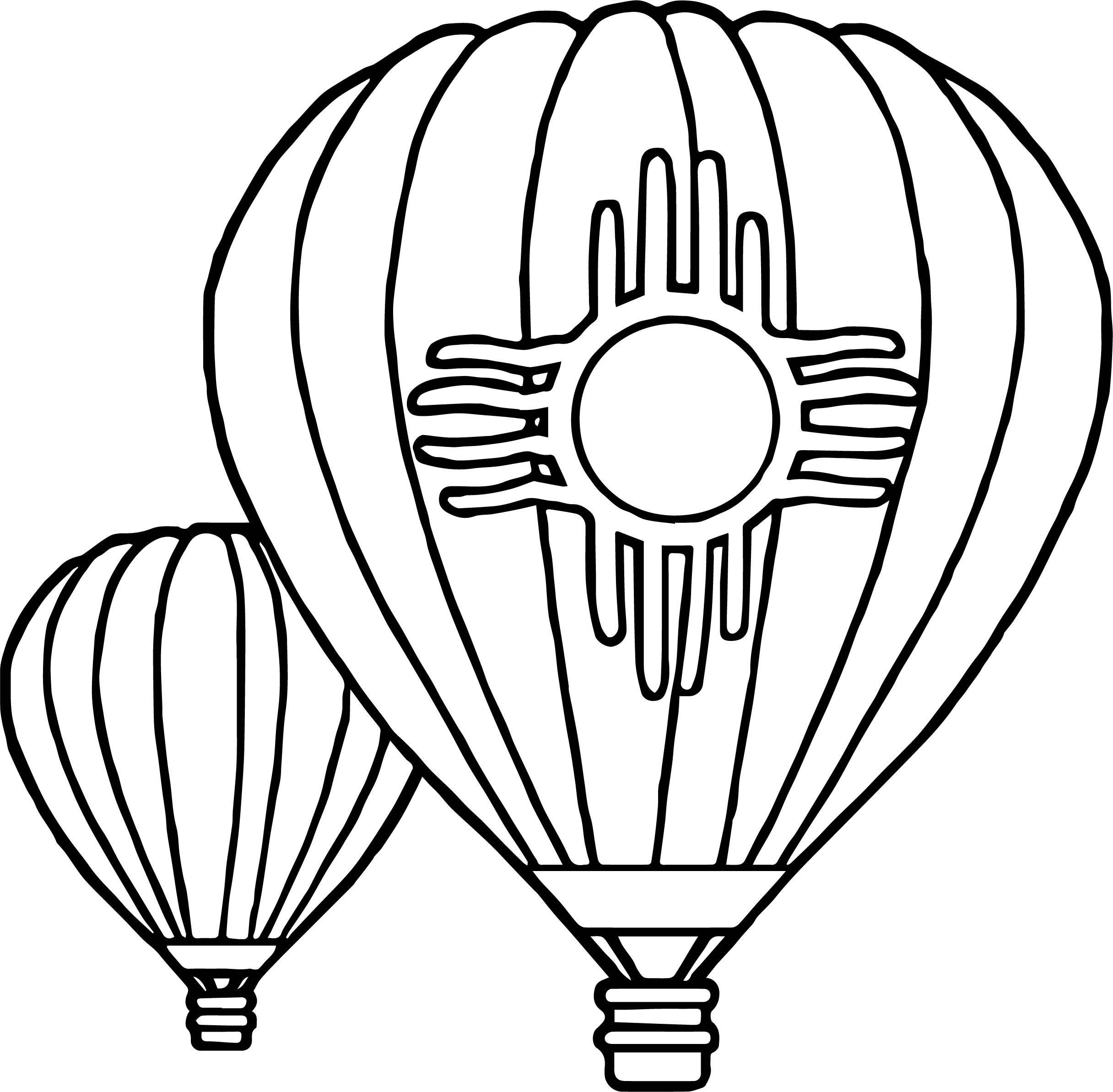 Balloon Color Page Download Free Coloring Books Download Of Hot Air Balloon Coloring Page Collection