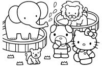 Hello Kitty Free Printable Coloring Pages - Bargain Coloring Pages Hello Kitty Beautiful Looking Free Printable Gallery