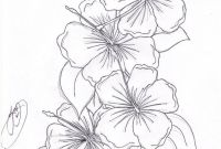 Coloring Pages Hawaiian Flowers - Beautiful Flower Coloring Pages Free Collection
