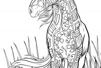 Coloring Pages Of Horses - Best Adult Coloring Pages Horse Printable Design Extraordinary to Print