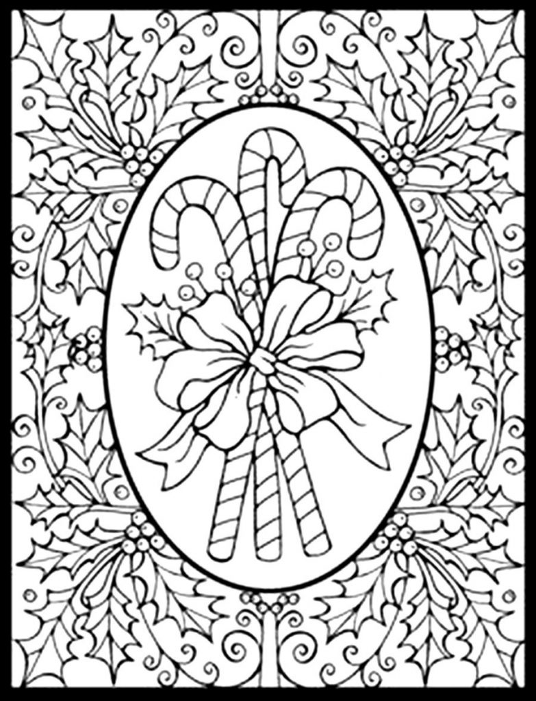 Christmas Coloring Pages Printable Free Download 5p - Save it to your computer
