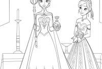 Free Coloring Pages Of Frozen - Best Free Elsa and Anna Coloring Pages Disney Frozen Cartoons Color Printable