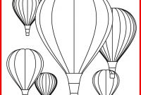 Hot Air Balloon Coloring Pages - Best Hot Air Balloon Coloring Pages Printables Pic for Line Color Download