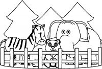 Animals Coloring Pages to Print - Best Printable Zoo Animal Coloring Pages Printable Coloring Page Printable